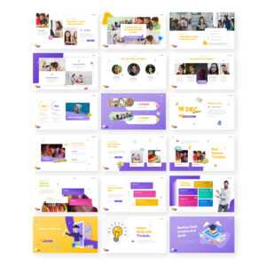 Thinkids – Fun Games & Education Powerpoint Template throughout Powerpoint Template Games For Education