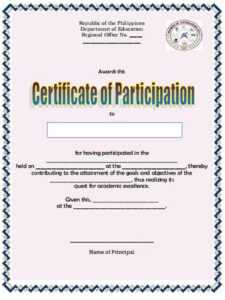 This Certificate Entitles You To Template Gift Certificate within Sample Certificate Of Participation Template