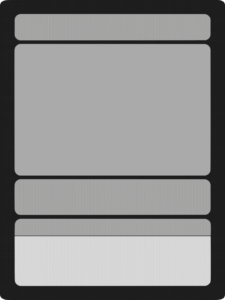 This Is A Free To Use Template For Those Wishing in Blank Magic Card Template