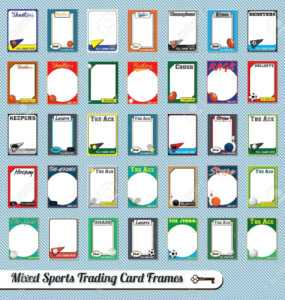Trading Cards Clipart throughout Free Sports Card Template