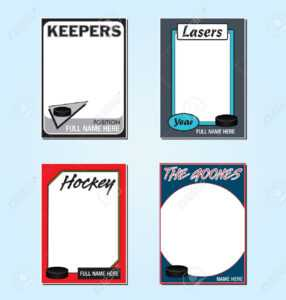 Trading Cards Clipart with regard to Free Sports Card Template
