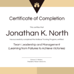 Training Certificate Of Completion Template With Regard To Certification Of Completion Template