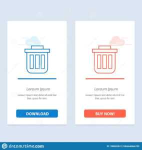 Trash, Basket, Bin, Can, Container, Dustbin, Office Blue And with regard to Bin Card Template