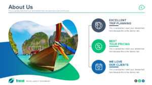Travel Agency Powerpoint Template in Tourism Powerpoint Template