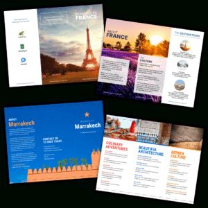 Travel Brochure Templates – Make A Travel Brochure – Venngage regarding Island Brochure Template