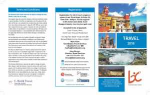 Travel Brochure – Tourism Company And Tourism Information Center in Travel Brochure Template Ks2