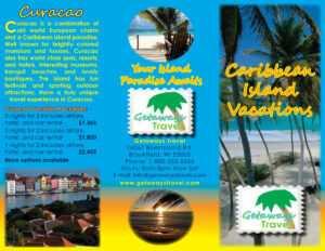 Travel Brochure with regard to Island Brochure Template