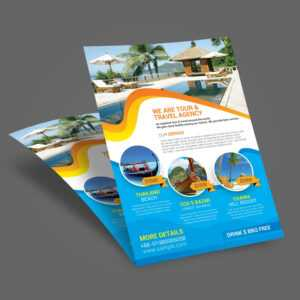 Travel Flyer Template Word – Tourism Company And Tourism intended for Word Travel Brochure Template