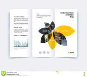 Tri-Fold Brochure Template Layout, Cover Design, Flyer In A4 for Engineering Brochure Templates Free Download