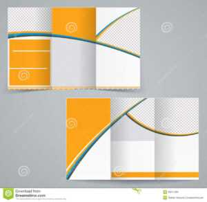 Tri-Fold Business Brochure Template Stock Vector for Tri Fold Brochure Publisher Template