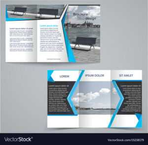 Tri-Fold Business Brochure Template Two-Sided pertaining to Double Sided Tri Fold Brochure Template