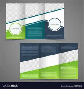 Tri-Fold Business Brochure Template Two-Sided regarding Free Tri Fold Business Brochure Templates