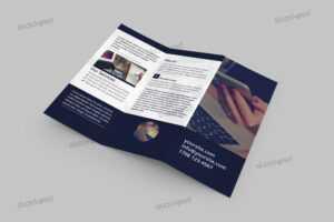 Tri-Fold Corporate Brochure – Free Psd Template – Stockpsd inside Brochure Psd Template 3 Fold