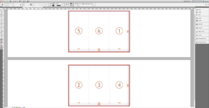 Tutorial: Create A Tri Fold Business Brochure » Saxoprint in Z Fold Brochure Template Indesign