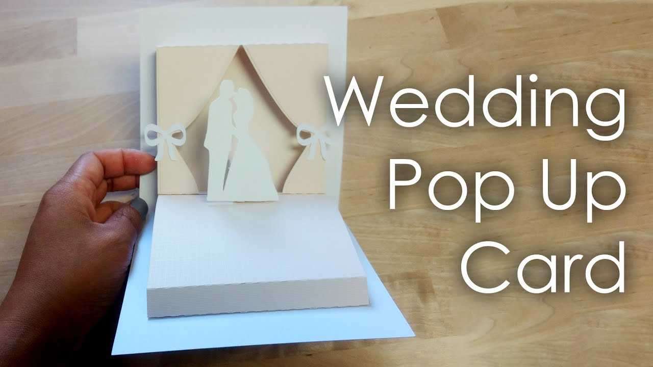 [Tutorial + Template] Diy Wedding Project Pop Up Card For Diy Pop Up Cards Templates