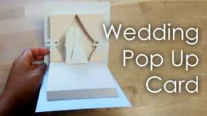 [Tutorial + Template] Diy Wedding Project Pop Up Card throughout Popup Card Template Free