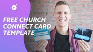 Ultimate Church Connect Card Template [Free Download] in Church Visitor Card Template