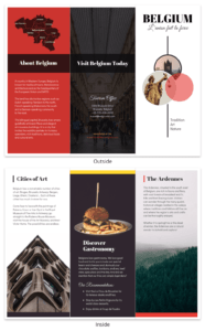 Vacation Travel Brochure Template inside Travel Brochure Template For Students