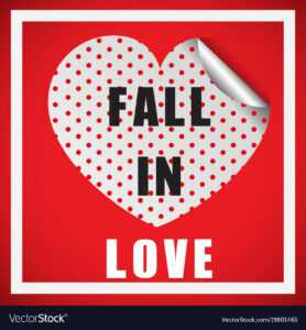 Valentine Card Template With Word Fall In Love within Valentine Card Template Word