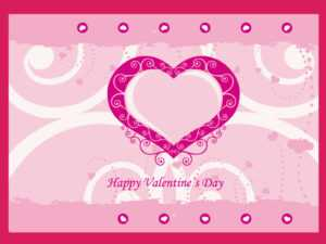 Valentine Card Template within Valentine Card Template Word