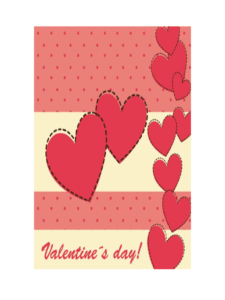 Valentine's Day Card Template – 5 Free Templates In Pdf with regard to Valentine Card Template Word