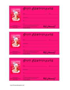 Valentine's Day Gift Certificate Template with regard to Birth Certificate Template For Microsoft Word