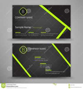 Vector Abstract Creative Business Cards Stock Vector with Google Search Business Card Template