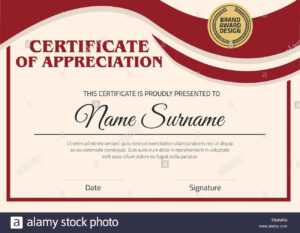 Vector Certificate Template. Illustration Certificate In A4 with Certificate Template Size