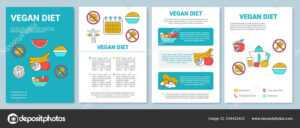 Vegetarian Diet Brochure Template Layout. Organic Nutrition with regard to Nutrition Brochure Template