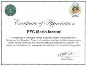 Veteran Certificate Of Appreciation Printable Related in Army Certificate Of Appreciation Template