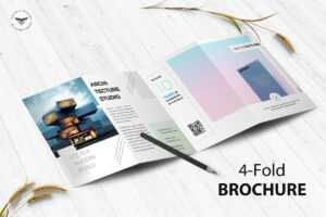 """Victorthemes On Twitter: """"architecture 4-Fold Brochure pertaining to Brochure 4 Fold Template"""