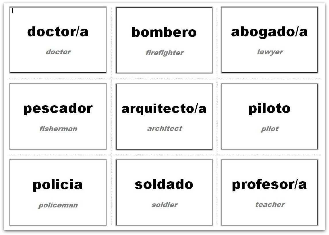 Vocabulary Flash Cards Using Ms Word In Cue Card Template