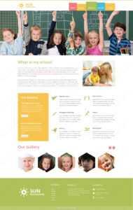 Webbytemplates | Play School Psd Website Template.html with Play School Brochure Templates