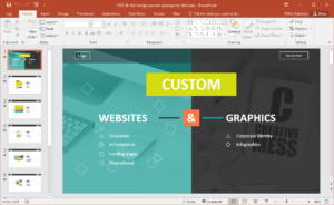 Website Development Presentation Template For Powerpoint with regard to How To Create A Template In Powerpoint