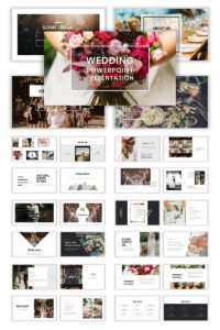 Wedding Album Ppt Templates | Templatemonster within Powerpoint Photo Album Template