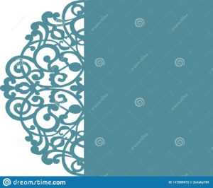 """Wedding Card Invitation Template 5X7"""" Svg, Floral Flower intended for Free Svg Card Templates"""