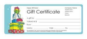 Wedding Gift Certificate Template Free Download – Apteng's Diary intended for Fun Certificate Templates