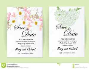 Wedding Invitation Card Flowers,jasmine Stock Illustration intended for Wedding Card Size Template