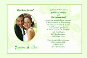 Wedding Invitation Cards Samples Wedding Invitation Sample in Sample Wedding Invitation Cards Templates