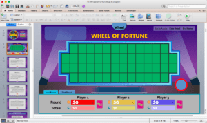 Wheel Of Fortune For Powerpoint Version 4.0 Final: Welcome intended for Wheel Of Fortune Powerpoint Template