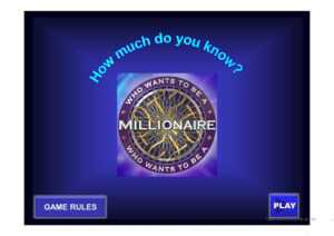 Who Wants To Be A Millionaire (Superlative) – English Esl within Who Wants To Be A Millionaire Powerpoint Template