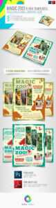 Wildlife Stationery And Design Templates From Graphicriver inside Zoo Brochure Template