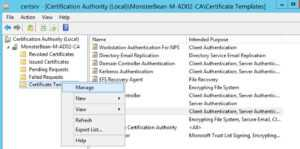 Windows 2012 R2 Nps With Eap-Tls Authentication For Os X intended for Workstation Authentication Certificate Template