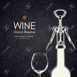 Wine List Design. Vector Brochure Template For Winery, Cafe, Restaurant,  Bar. Wine Bottles And Glasses pertaining to Wine Brochure Template