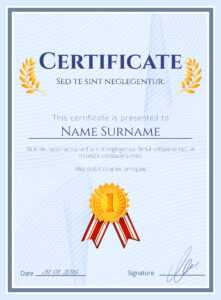 Winner Certificate With Seal – Download Free Vectors with Winner Certificate Template