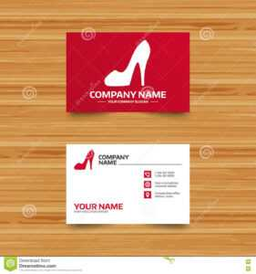 Women S Shoe Sign Icon. High Heels Shoe. Stock Vector with regard to High Heel Template For Cards