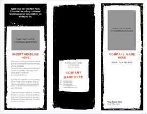 Word Brochure Template   Brochure Template Word regarding Microsoft Word Brochure Template Free