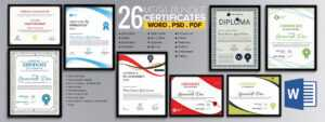 Word Certificate Template – 53+ Free Download Samples regarding Blank Certificate Templates Free Download