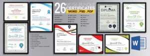 Word Certificate Template – 53+ Free Download Samples Regarding Template For Certificate Of Appreciation In Microsoft Word