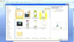 Word Leaflet Template Free – Bestawnings inside Microsoft Word Brochure Template Free